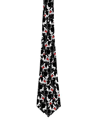Border collie tie pattern