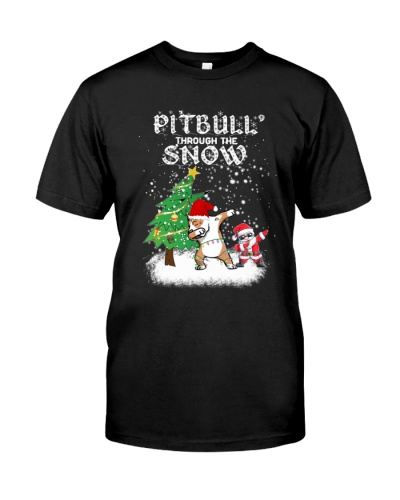 Pitbull Snow