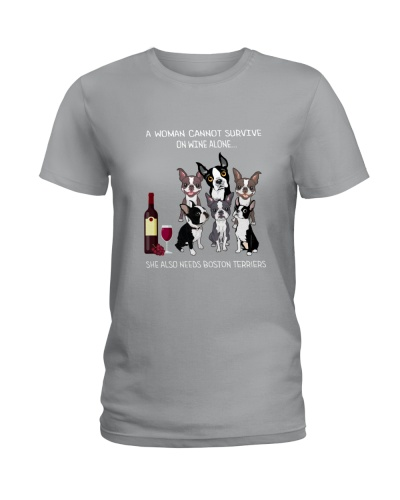 Boston Terrier Wine