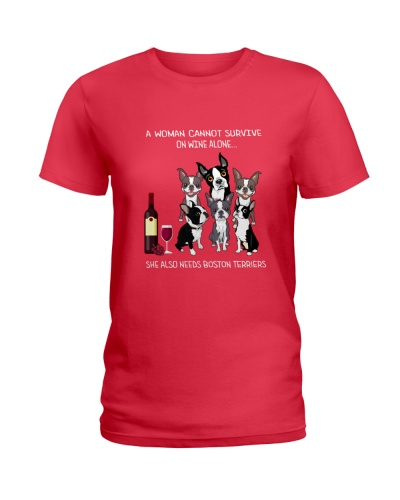 Boston Terrier Wine