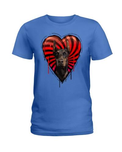 Doberman Heart