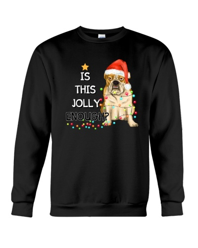 Bulldog jolly Christmas Gift
