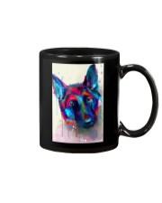 German Shepherd Face Art Flow S50 Mug thumbnail