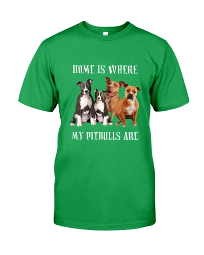 Home Is Where My Pitbulls Are