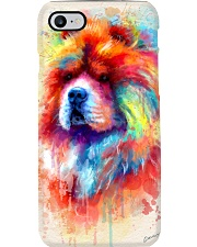 Chow Chow Poster Water Color N2 Phone Case thumbnail