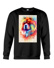 Chow Chow Poster Water Color N2 Crewneck Sweatshirt thumbnail