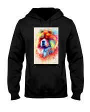 Chow Chow Poster Water Color N2 Hooded Sweatshirt thumbnail