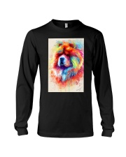 Chow Chow Poster Water Color N2 Long Sleeve Tee thumbnail