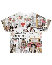 Home Is Where My Border collie Is All-over T-Shirt thumbnail
