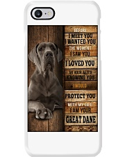 Great Dane  I loved You  Phone Case thumbnail