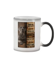 Great Dane  I loved You  Color Changing Mug thumbnail