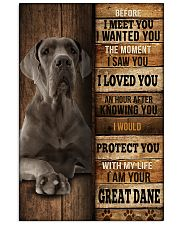 Great Dane  I loved You  24x36 Poster front