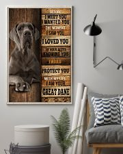 Great Dane  I loved You  24x36 Poster lifestyle-poster-1