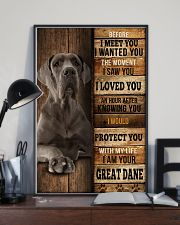 Great Dane  I loved You  24x36 Poster lifestyle-poster-2
