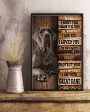 Great Dane  I loved You  24x36 Poster lifestyle-poster-3