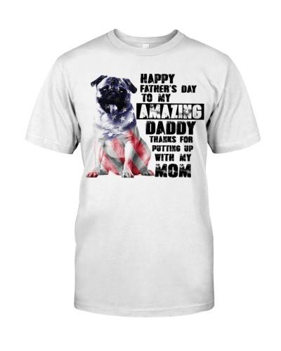 Pug amazing daddy
