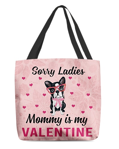 Frenchie Mommy is my valentine