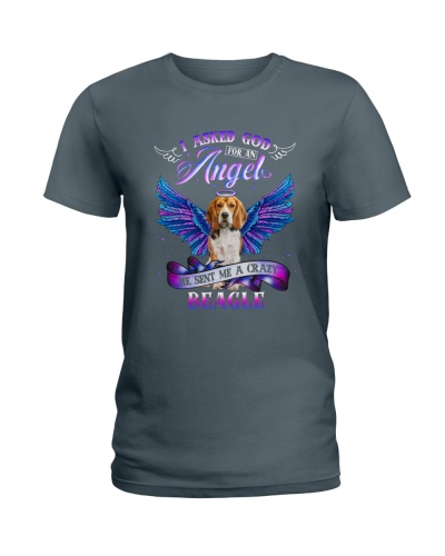 Beagle I asked God for an Angel