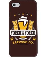 Yorkie and Beer Hoodie  Phone Case thumbnail