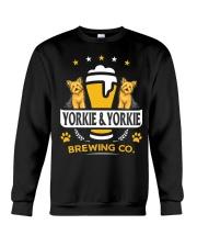 Yorkie and Beer Hoodie  Crewneck Sweatshirt thumbnail