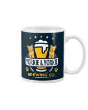 Yorkie and Beer Hoodie  Mug thumbnail