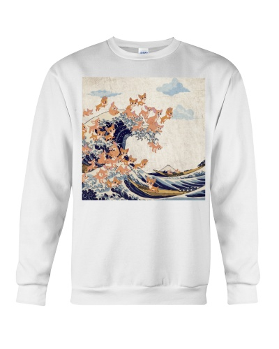 Chihuahua Great Wave