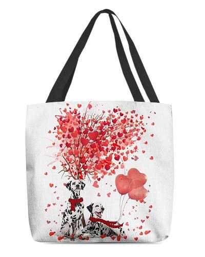 Dalmatian Tree Valentine