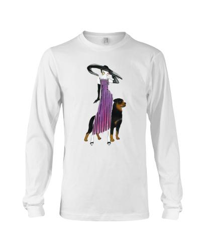 rottweiler lady dog