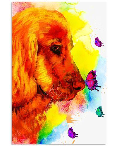 corgi color poster