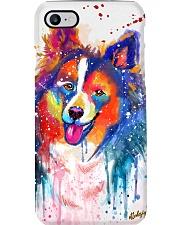 Sheltie Water Color Phone Case Phone Case i-phone-7-case