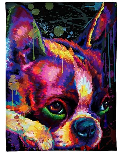 Boston Terrier  Water Color