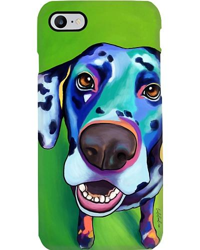 Dalmatian Water Color Phone Case
