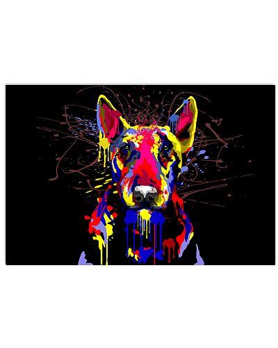 Bull Terrier Water Color
