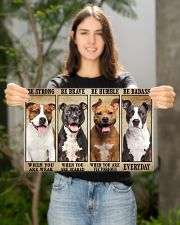 Staffordshire Be Strong 17x11 Poster poster-landscape-17x11-lifestyle-19