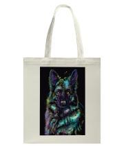 German Shepherd color Tote Bag thumbnail