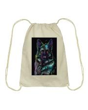 German Shepherd color Drawstring Bag thumbnail