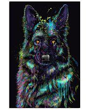 German Shepherd color 24x36 Poster front