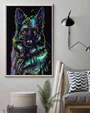 German Shepherd color 24x36 Poster lifestyle-poster-1