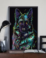 German Shepherd color 24x36 Poster lifestyle-poster-2