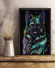 German Shepherd color 24x36 Poster lifestyle-poster-3