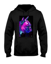 French Bulldog color Hooded Sweatshirt thumbnail