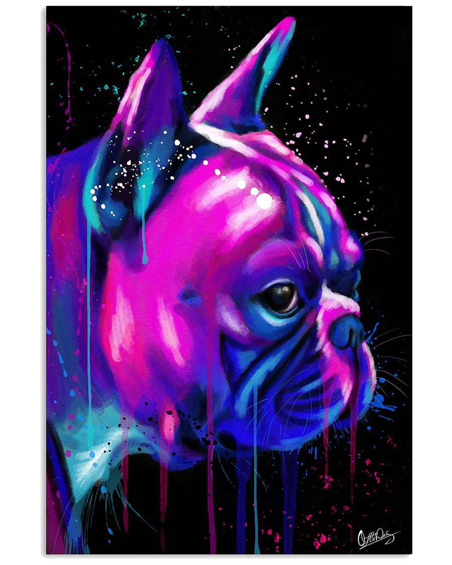 French Bulldog color 24x36 Poster