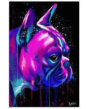 French Bulldog color 24x36 Poster front
