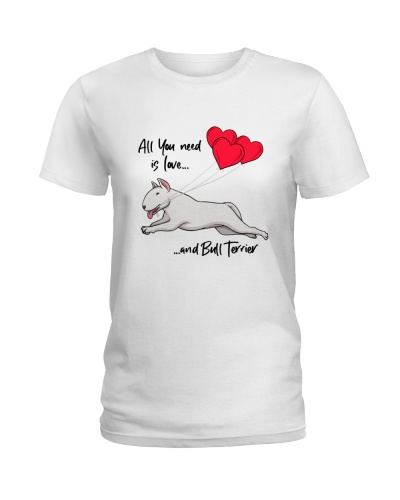 All You need Is Love And Bull Terrier