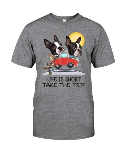 Boston terrier T- shirt life