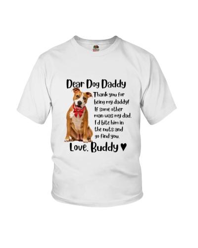 Staffordshire  Dear Dog Daddy