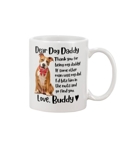 Staffordshire  Dear Dog Daddy