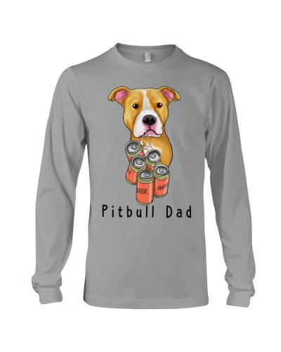 Pitbull beer dad