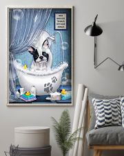 Frenchie Dog Bathtub 16x24 Poster lifestyle-poster-1