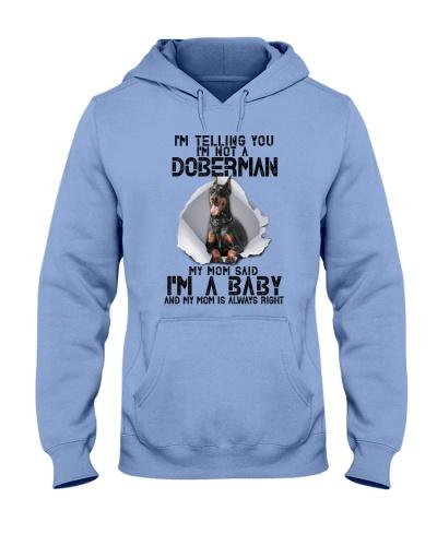 Doberman Im A Baby